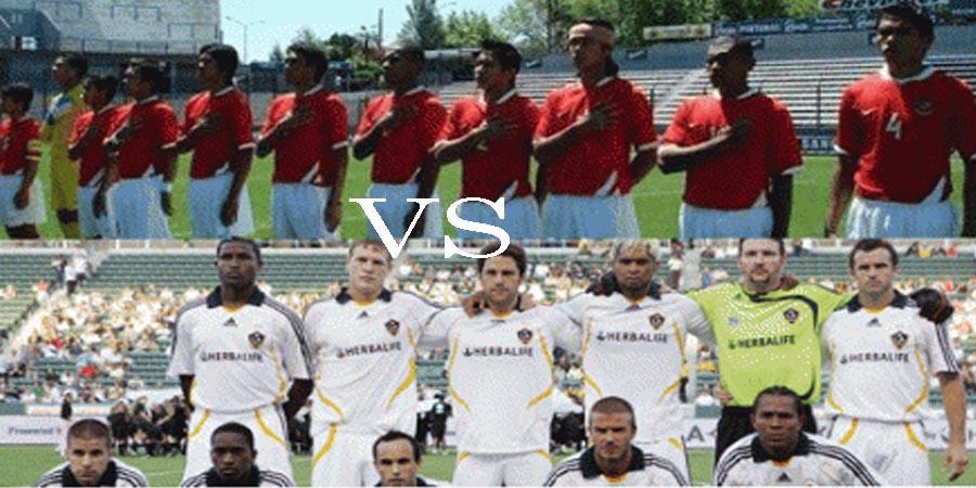 Pemain TIMNAS Indonesia Melawan LA Galaxy  Web Pribadi Pujo Hari Saputro